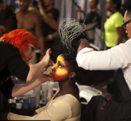 Behind the scenes at Global Beauty Masters Competition